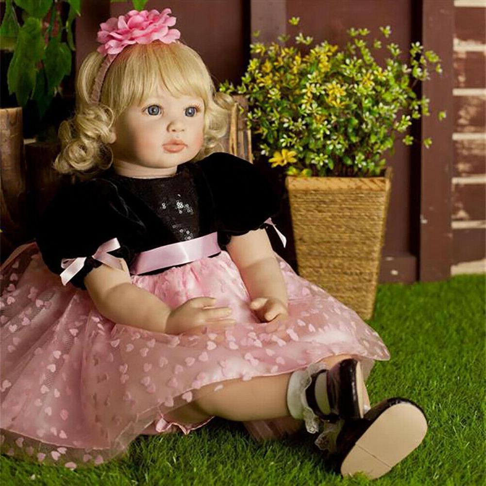 24 big toddler doll soft body reborn