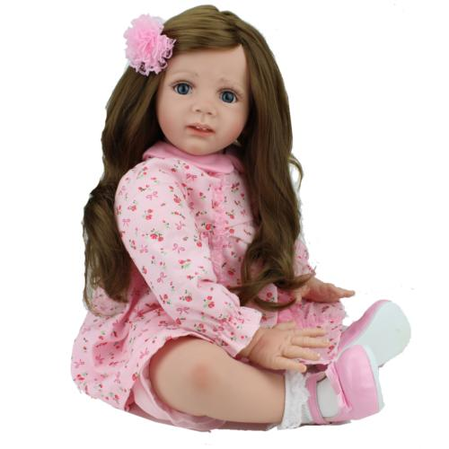 """24"""" Dolls Handmade Silicone Baby Doll Gifts"""
