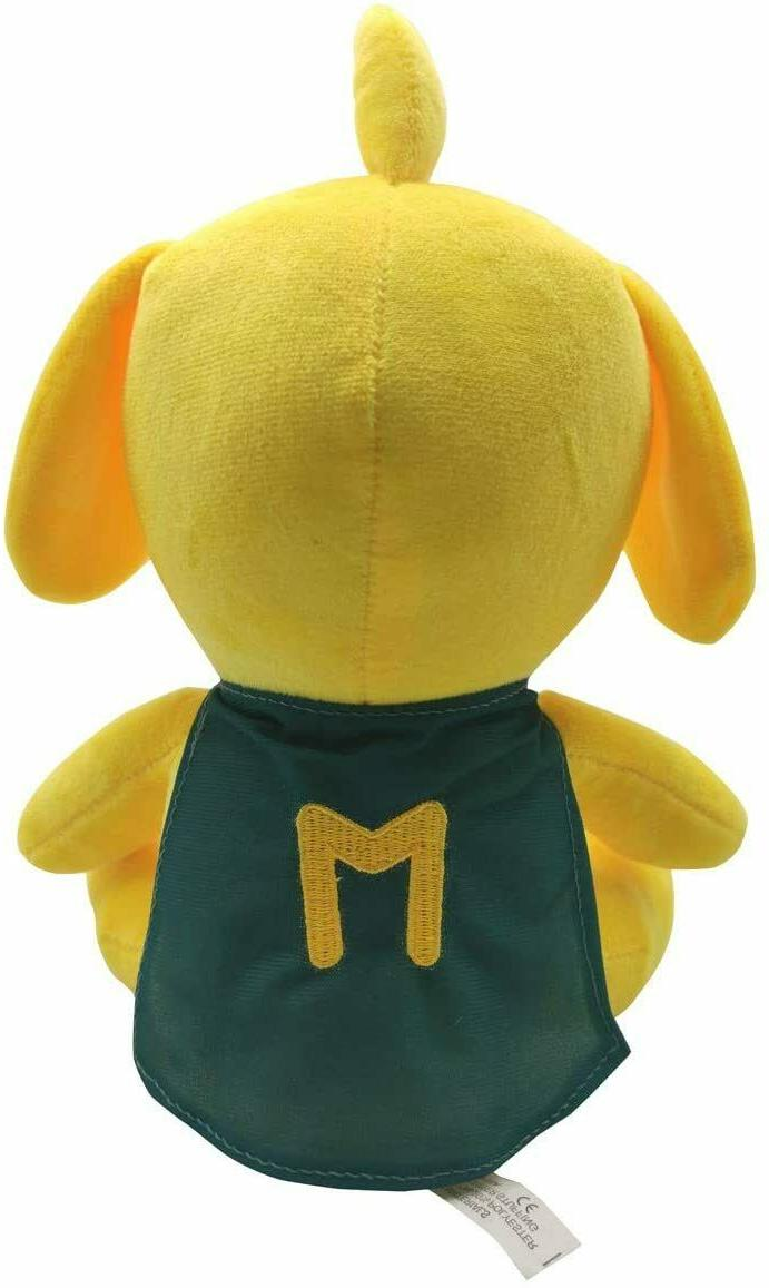 25cm Mike-Crack Plush Toys Yellow Dog Stuffed Gift