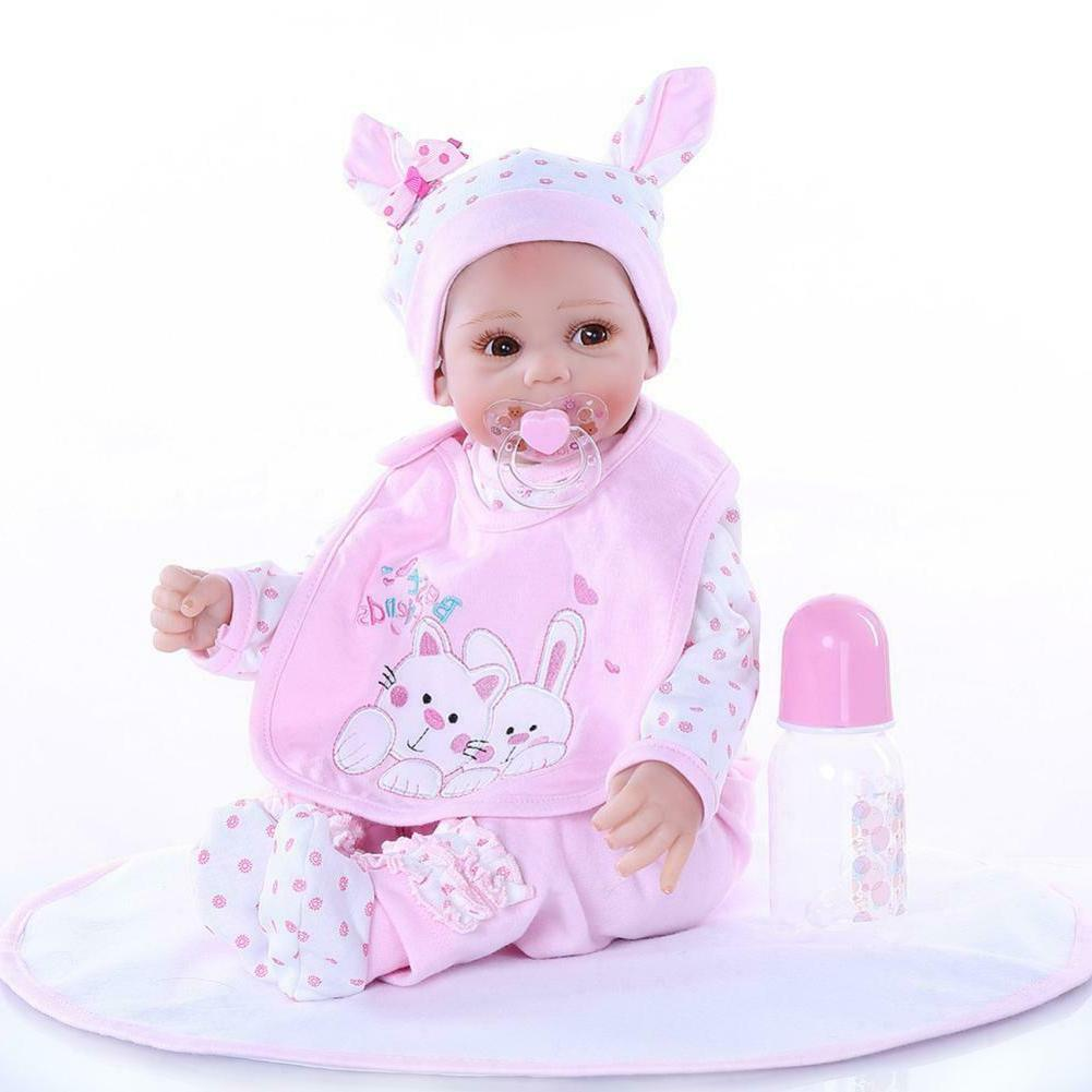 50cm Simulated Silicone Doll Baby Doll Children Playmate Toy