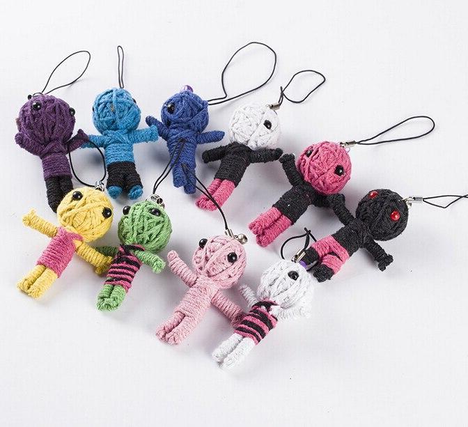 5pcs many style voodoo font b doll