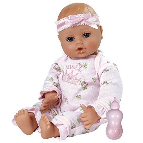 "Adora PlayTime Baby Little Princess Vinyl 13"" Girl Weighted"