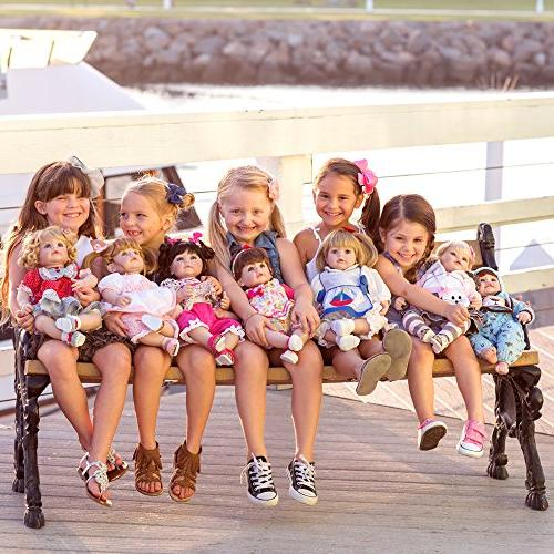 Adora Doll Gift Set Children 6+ Cuddly Snuggle Soft Body Toy