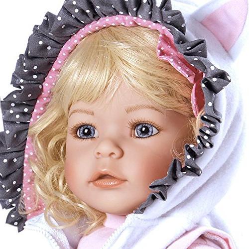 """Adora Toddler Meow 20"""" Girl Doll Gift Children Huggable Toy"""