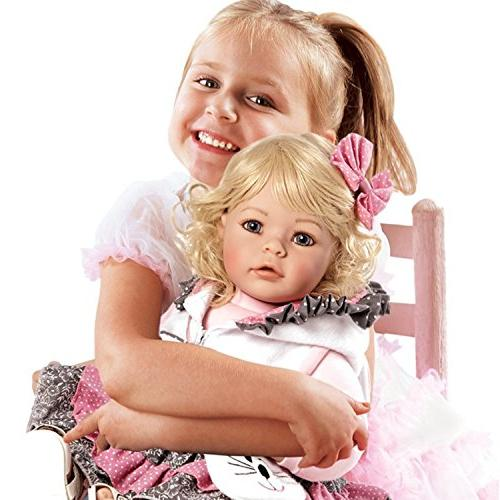 Adora Toddler Meow Girl Weighted Doll Gift Set Children 6+ Cuddly Snuggle Soft Toy