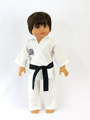 American Fashion Kickin' Karate - Inch Doll Includes 6 and Bag