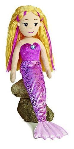 """Aurora World Marinna Mermaid 18"""" Plush"""