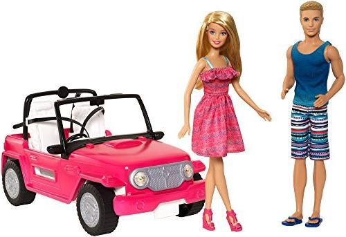 Barbie Beach Cruiser and Ken