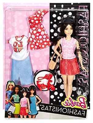 Barbie Fashionistas Doll & Fashions Pizza Pizzazz, Petite Da