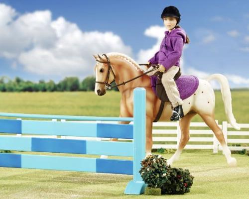 Breyer English Horse and Rider - Horse Doll