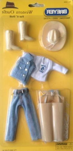 """Breyer """"Western Outfit"""" for 6'' Doll"""