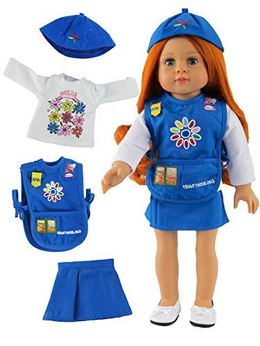 """Daisy Girl Scout Outfit 