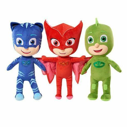 Disney PJ Masks Catboy Owlette Gekko Plush Doll Stuffed Anim