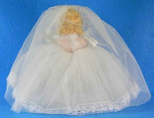 Madame Alexander - #435 - Bride Doll - 8 Inches - Brown Hair