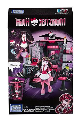 Mega Bloks Monster High Draculaura's Vamptastic Room Buildin
