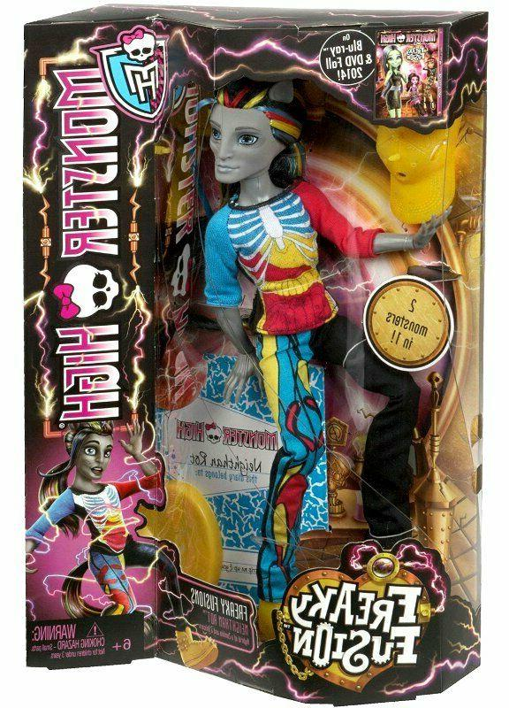 Monster High Freaky Fusion Neighthan Rot Doll