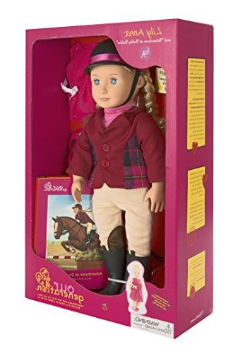 Our Lily Poseable Doll Set with Riding Award Ceremony Adventure At Shelby Stables