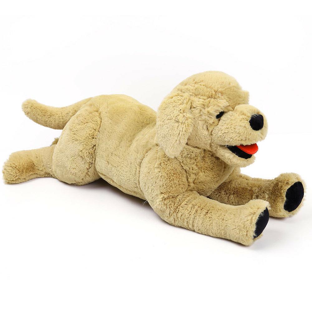 Plush Dog Stuffed Animals Gold Labrador Retriever Puppy Doll