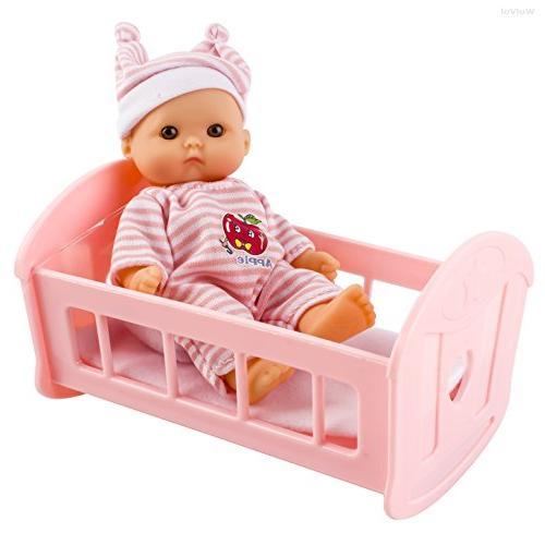 WolVol Set 6 Mini with Cradle, Walker, Swing, Bathtub, seat