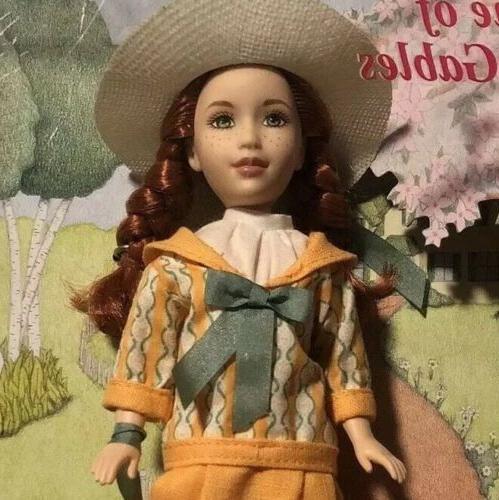 anne shirley green gables barbie doll 2001