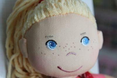 "HABA 12"" Doll and Blue Eyes"