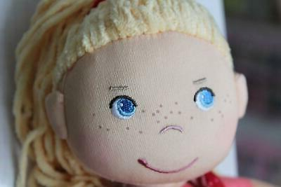 HABA Soft Doll Blonde Hair and Blue Eyes