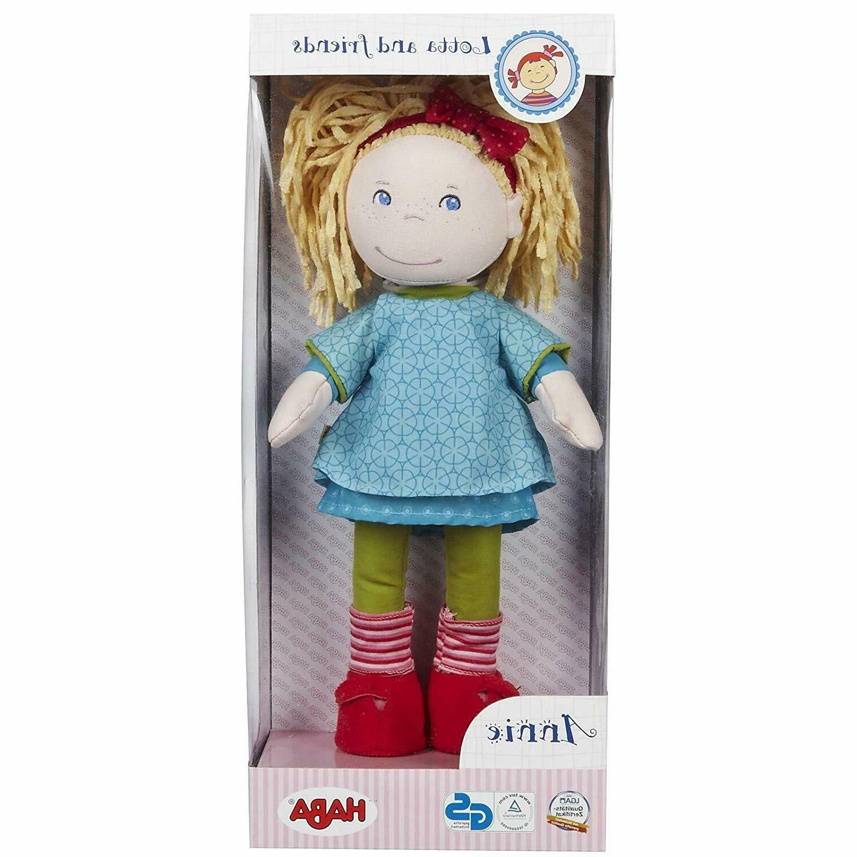 HABA Annie Doll Blonde Hair, Blue