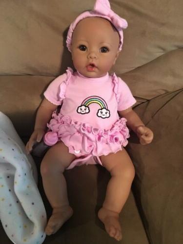 Asian Babydoll Adora lavender Reborn Doll