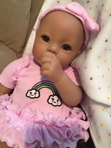 Asian Biracial Adora lavender Reborn Doll