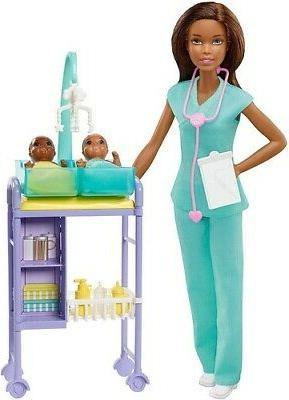 barbie careers african american baby doctor doll