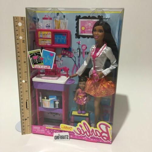 barbie careers doctor ray african