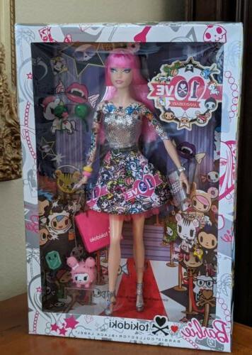Tokidoki Muse Doll Label