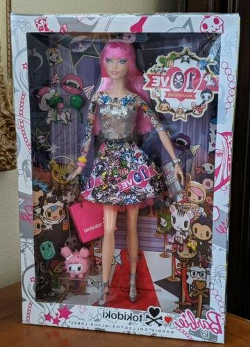 barbie collector 10th anniversary tokidoki barbie model