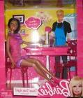 Barbie Doll X4934 Dinner Date Night Dining Room Set African