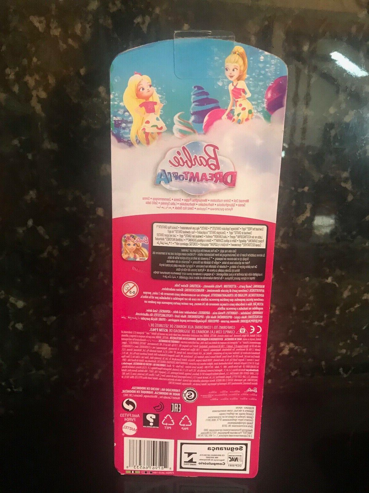 Barbie Mermaid Pink Yellow FIN/ Barbie