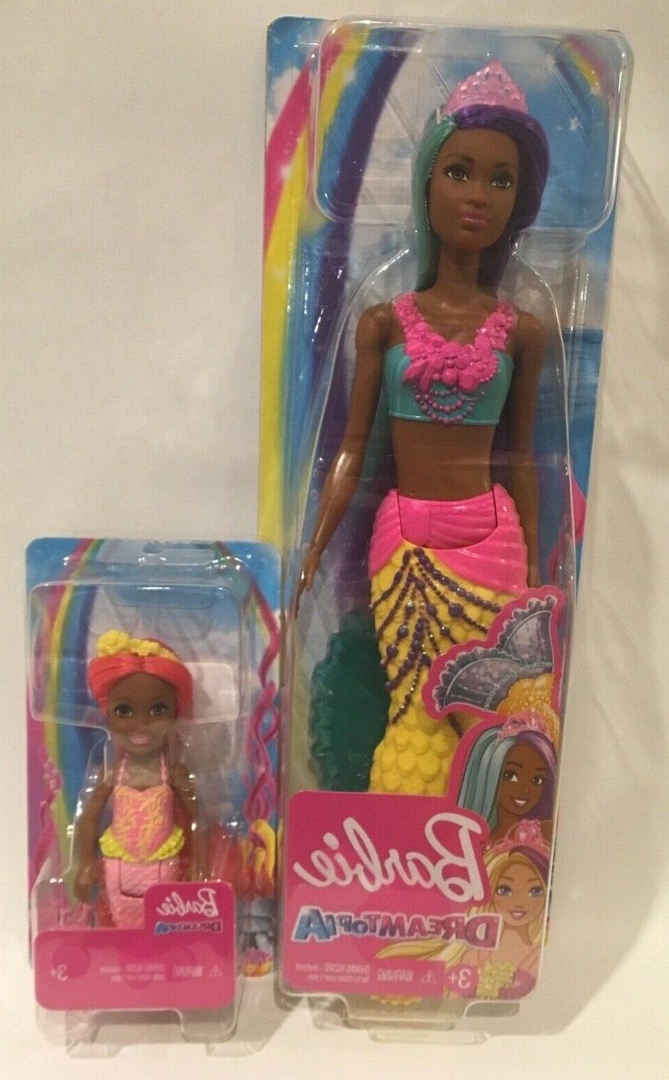 barbie dreamtopia mermaid doll set chelsea aa