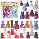 Barbie Dress Up Clothes Lot Cheap Doll Accessories Handmade