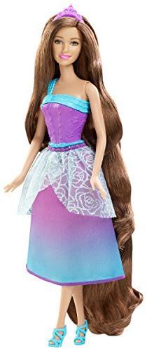 Barbie Endless Hair Kingdom Longest Locks Doll - Purple