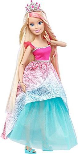 Barbie Endless Hair Kingdom Princess Doll - Dreamtopia