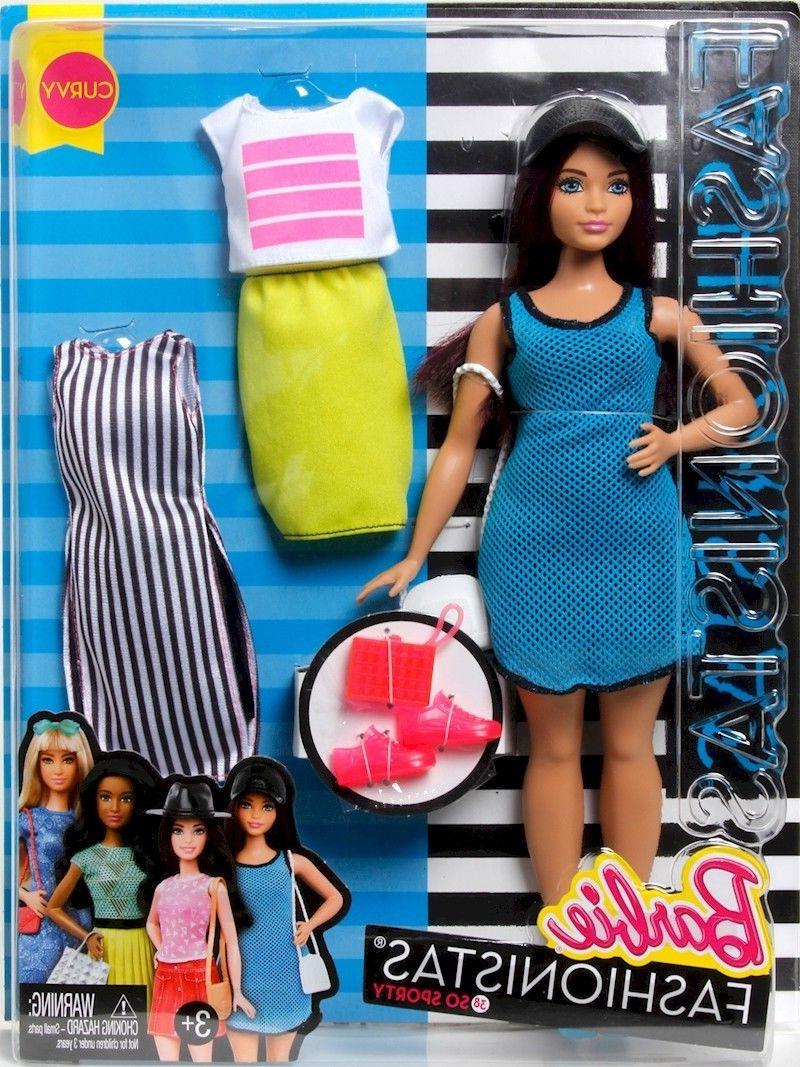 barbie fashionistas doll and fashions so sporty