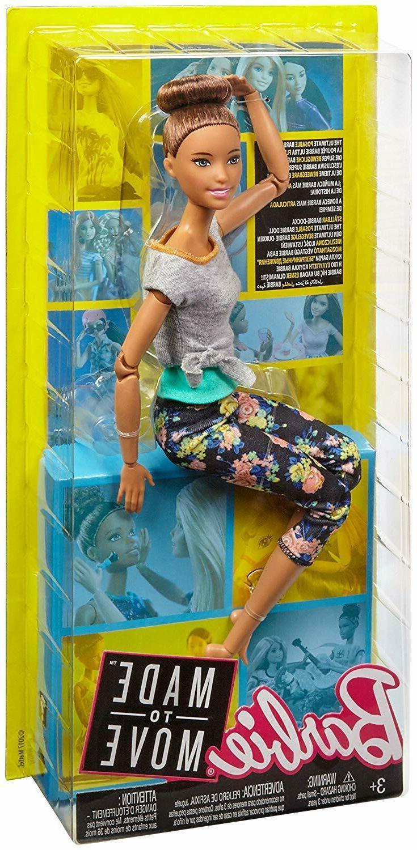 Barbie Made Move Doll, Brunette