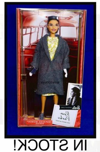 barbie rosa parks inspiring women collection signature