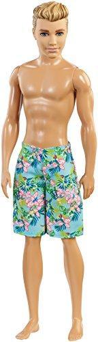 Barbie DGT83 Beach Ken Doll, Multicolor