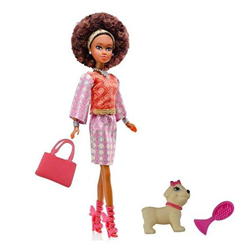 Queens of Africa Black Doll - WURAOLA Curly/Natural Hair