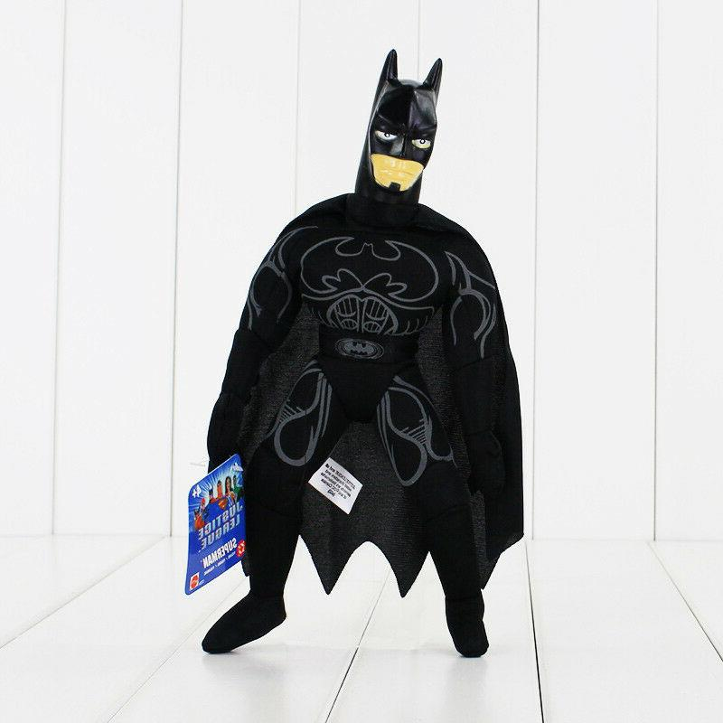 black batman 9 inches plush doll