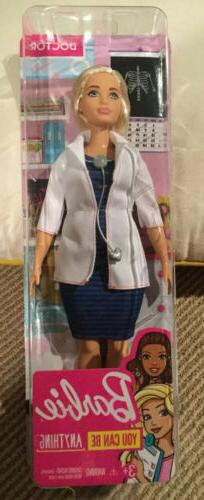 BNIB Barbie Careers Doctor Doll NIB You Can Be Anything.