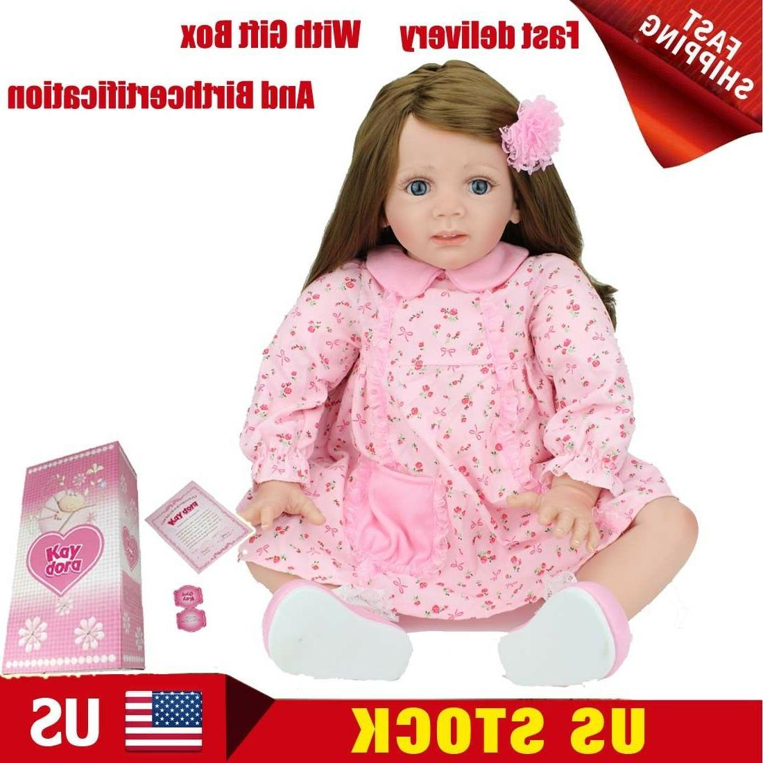 boxed 22 inch toddler reborn baby dolls