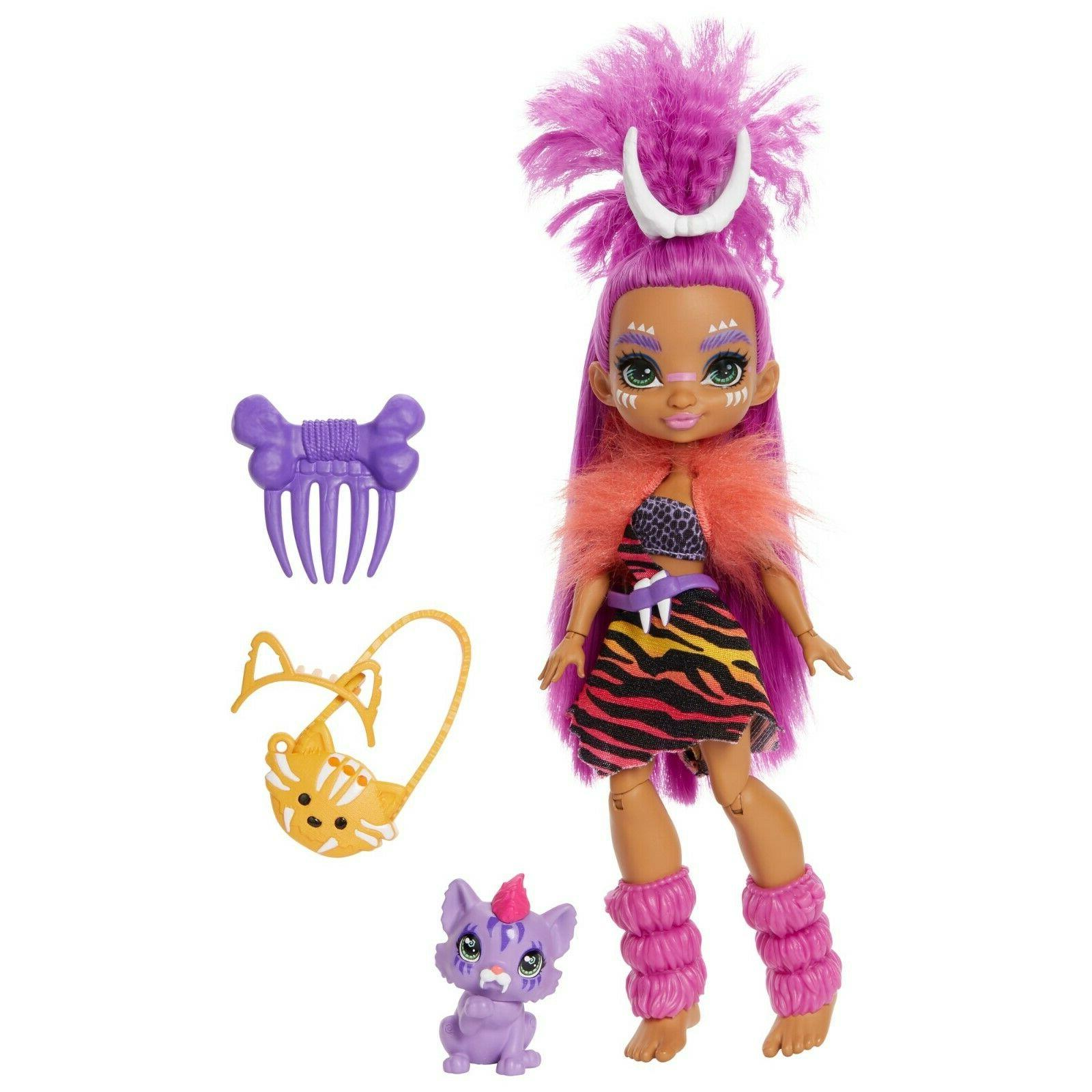 Cave Club Dolls Complete of New Mattel Toys