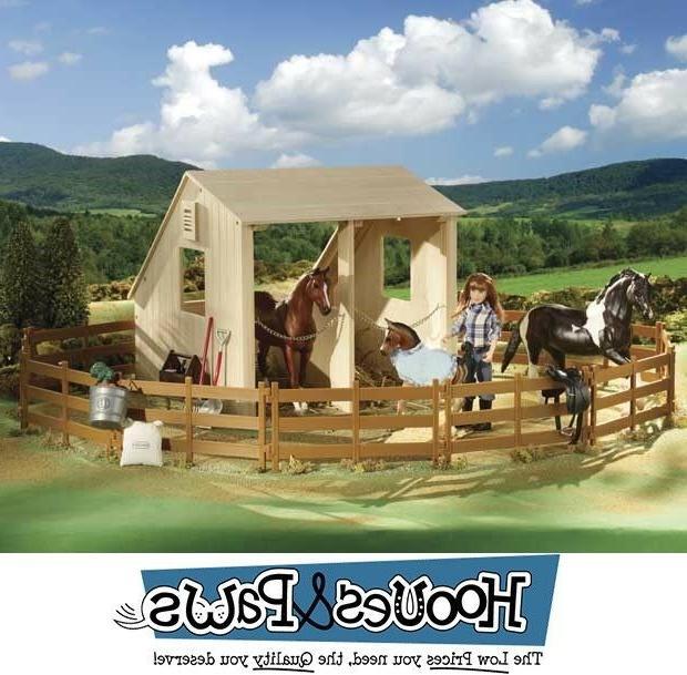 Breyer Classics Horse Model Corral Fencing Accessories Set 6