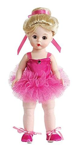 collectible doll pirouette pink blonde
